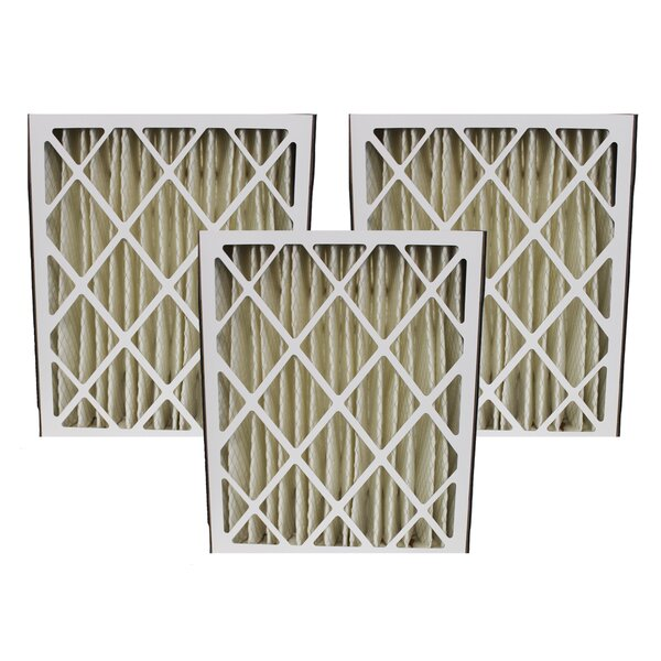 Honeywell Merv 8 Replacement Air Filter (Set of 3) by Crucial