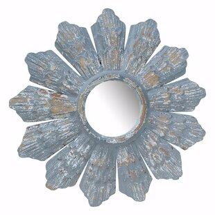Bloomsbury Market Dedrick Flower Inspired Radiate Accent Mirror