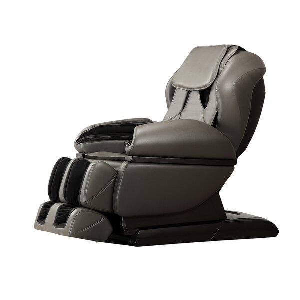 Reclining Adjustable Width Heated Massage Chair By Latitude Run