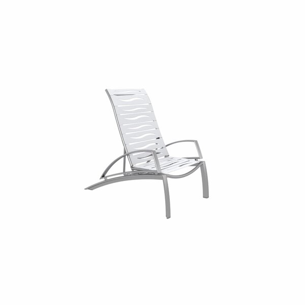South Beach EZ Span Wave Recliner Patio Chair by Tropitone