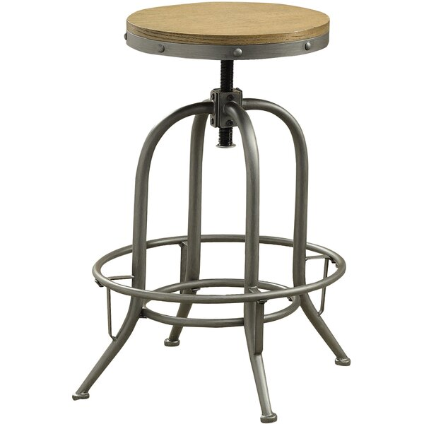 Boricco Adjustable Height Bar Stool (Set of 2) by Trent Austin Design
