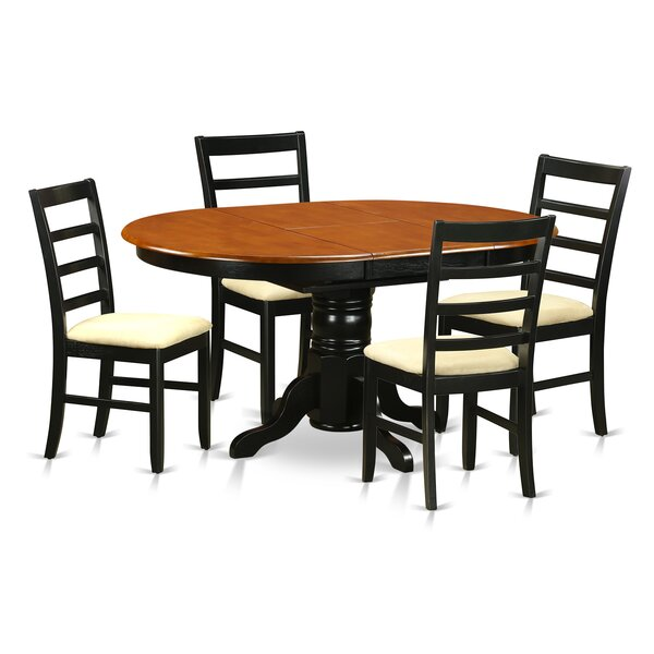 Spurling Solid Wood Dining Set by August Grove August Grove