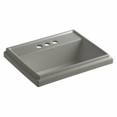 Drop Sink Ceramic Rectangular Overflow Faucetet photo