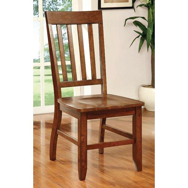 Ashlynn Solid Wood Dining Chair (Set of 2) by Loon Peak Loon Peak