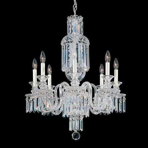 Fairfax 8-Light Candle Style Chandelier by Schonbek