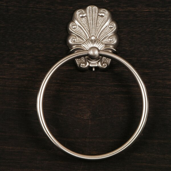 PK Series Wall Mounted Peacock Base Towel Ring by Rk International