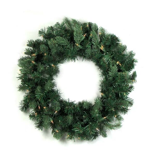 24 Lighted Artificial Frasier Fir Christmas Wreath by Vickerman