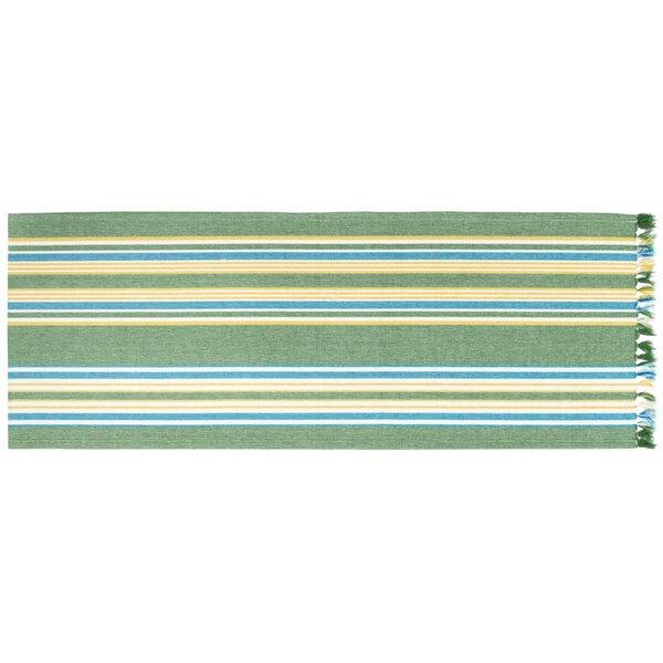 Hambleton Striped Table Runner (Set of 2) by Highland Dunes