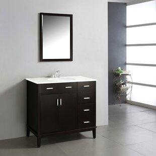 Affordable Urban Loft 37 Single Bathroom Vanity Set BySimpli Home