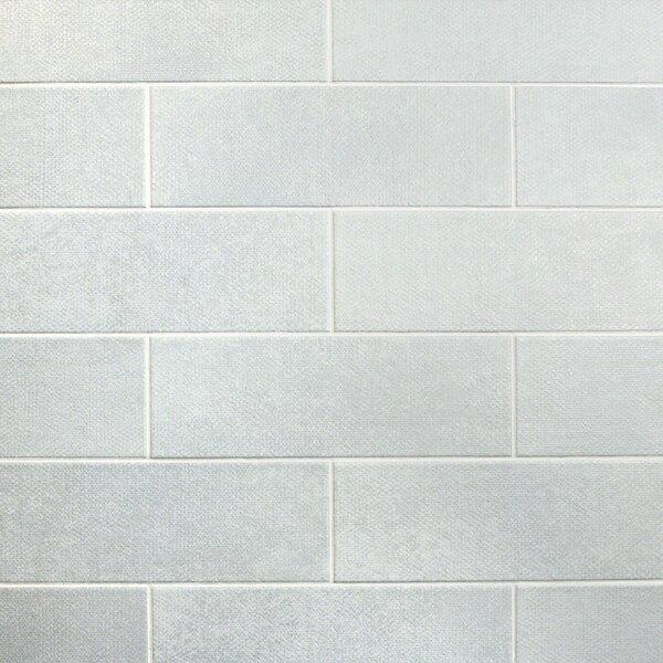 Piston Camp Canvas 4 x 12 Porcelain Subway Tile in White by Splashback Tile