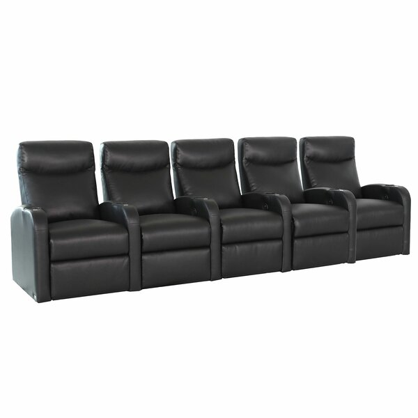 Lounger Home Theater Row Seating (Row Of 5) By Winston Porter