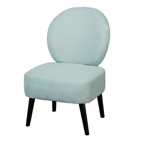 Cales Slipper Chair by Wrought Studio