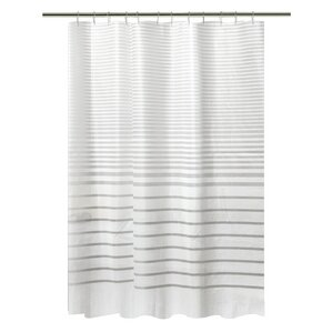 black and white striped shower curtain.  Striped Shower Curtains You ll Love Wayfair