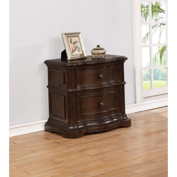 Aminah 2 Drawer Nightstand by Darby Home Co