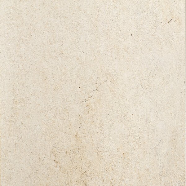 Jerusalem 24 x 24 Porcelain Field Tile in Avorio by QDI Surfaces