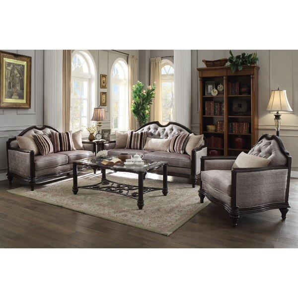 Beardmore 3 Piece Living Room Set by Astoria Grand