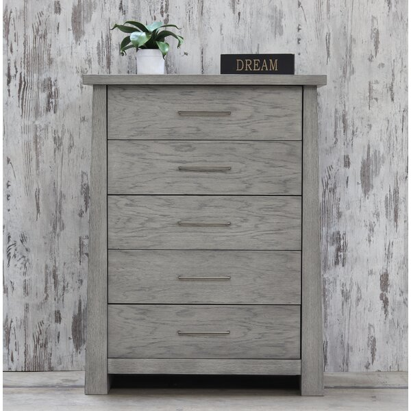 Emery 5 Drawer Chest by Loon Peak