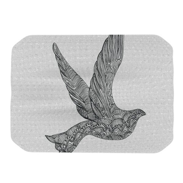 Dove Placemat by KESS InHouse