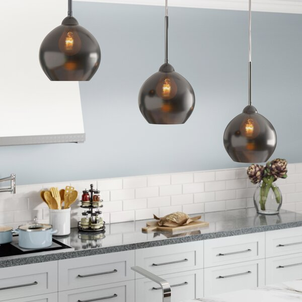Delia 3-Light Kitchen Island Pendant by Langley Street