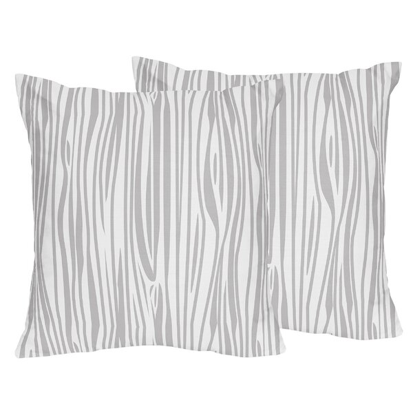 Stag Wood Grain Throw Pillow (Set of 2) by Sweet Jojo Designs