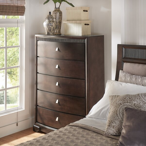 Noriega 5 Drawer Dresser by Alcott Hill