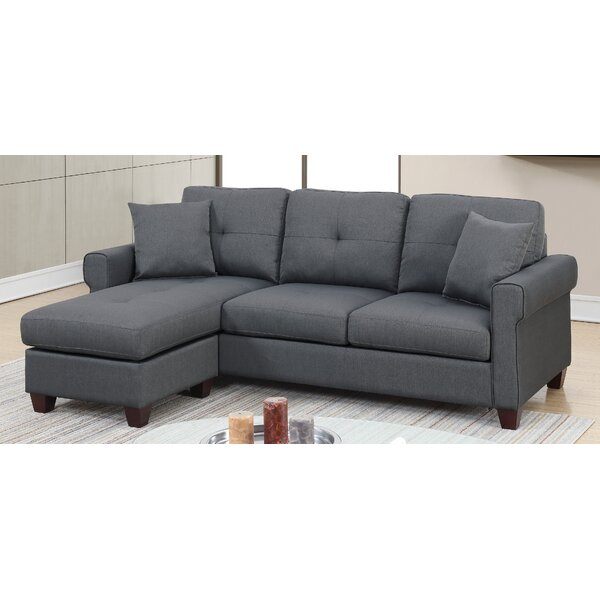 Floodwood Reversible Sectional By Winston Porter