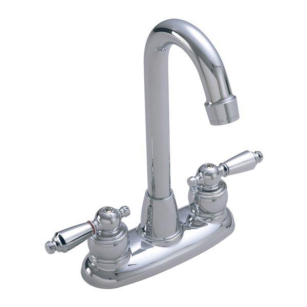 Symmetrix Pull Out Double Handle Kitchen Faucet by Symmons