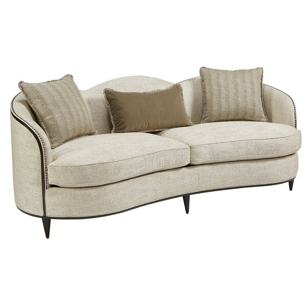 Curved Loveseat By Dowton Abbey