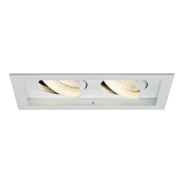 Line Voltage Medium Base Downlight Recessed Housing with Multi Spot Trim by WAC Lighting