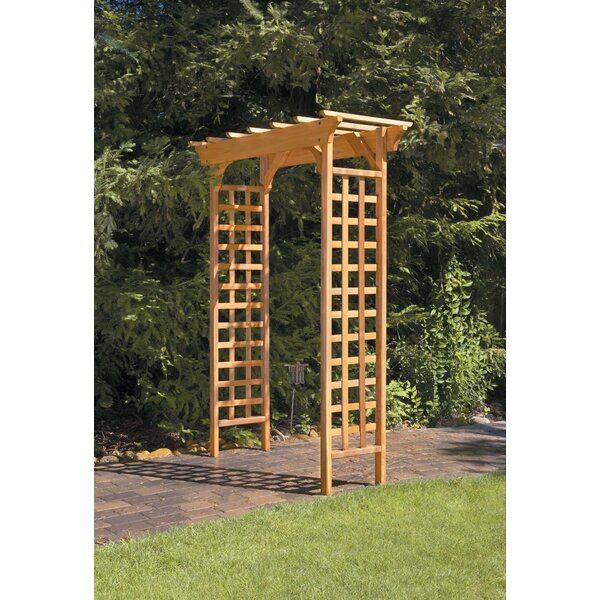 Fairchild Garden Wood Arbor by Greenstone Garden Structures