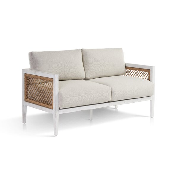 Bonnie Patio Loveseat with Cushions by Bayou Breeze
