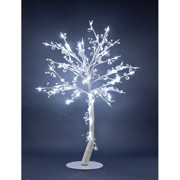 Crystal Tree with 384 Crystals and 96 Lights by Hi-Line Gift Ltd.
