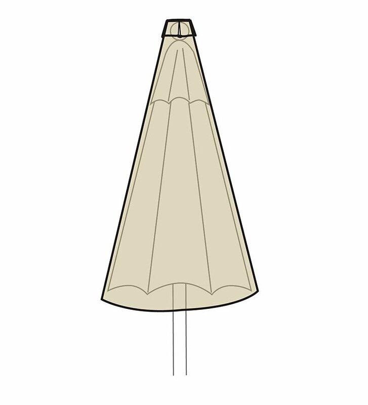 Deluxe Water Resistant Patio Umbrella Cover