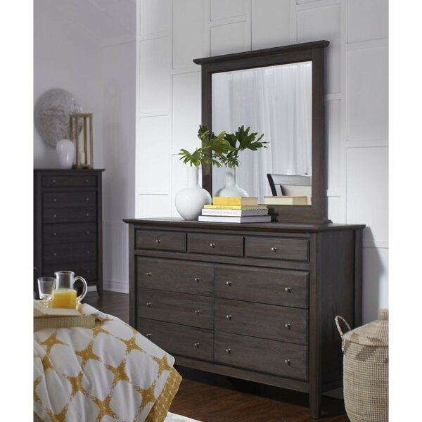 Schroeders 9 Drawer Double Dresser by Canora Grey