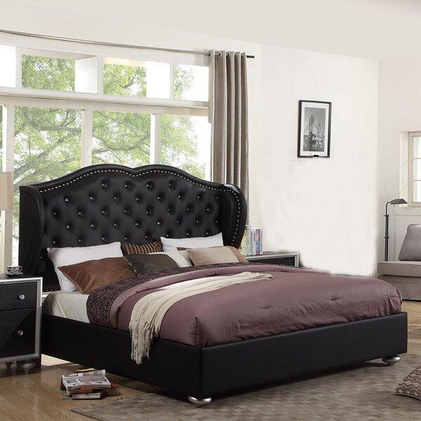 Madisyn Upholstered Platform Bed by Alcott Hill