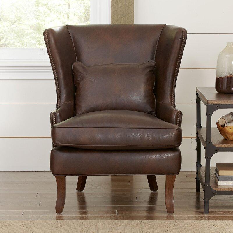Marvelous Solomon Wingback Chair