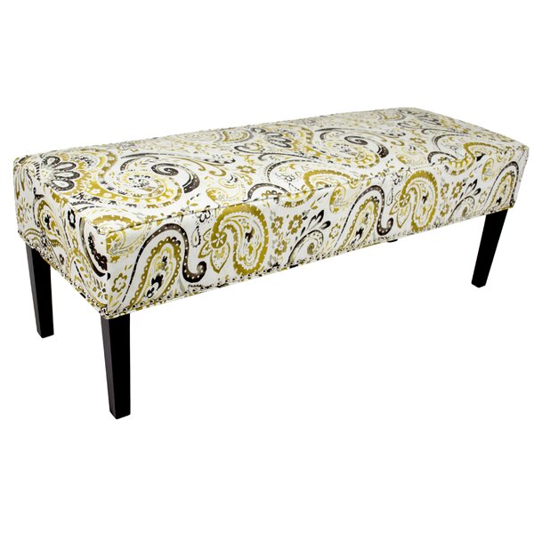 Idell Ikat Upholstered Bench by Red Barrel Studio