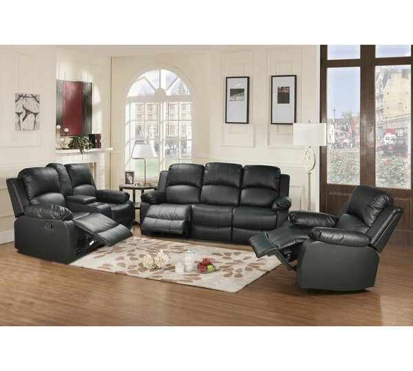 Farah Reclining 3 Piece Living Room Set by Beverly Fine Furniture