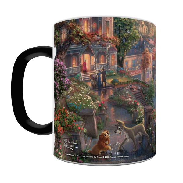 The Lady and the Tramp Heat-Sensitive Coffee Mug by Morphing Mugs