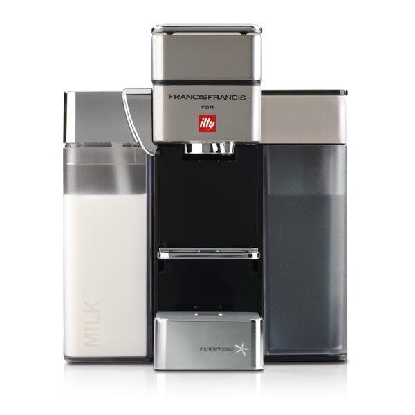 Y5 Milk Coffee & Espresso Maker by Illy Caffe & Es