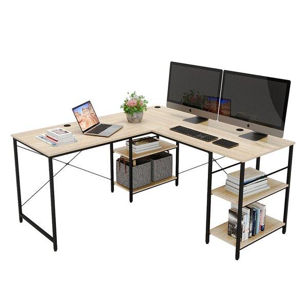 Tyrique Reversible L-Shape Gaming Desk