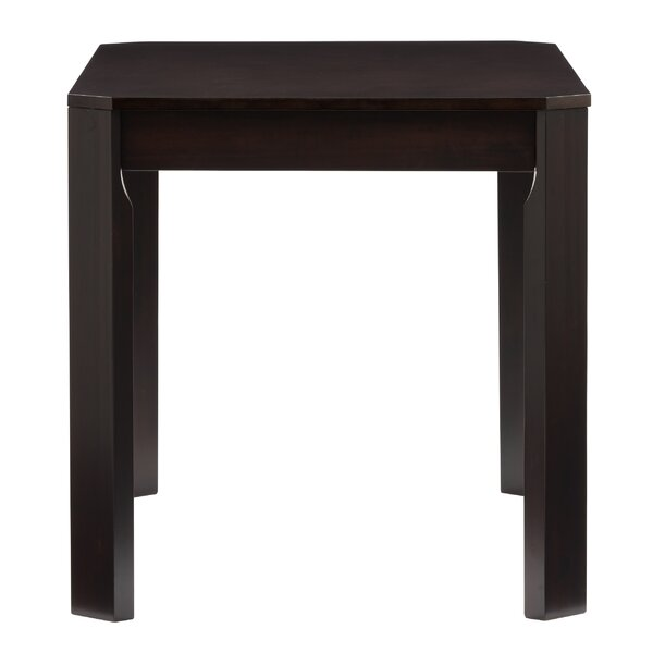 Goodman Solid Wood Dining Table by Breakwater Bay
