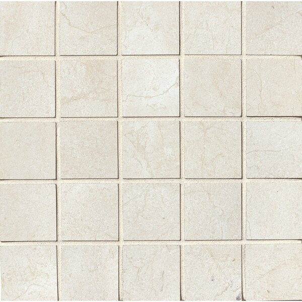 El Dorado 2 x 2 Porcelain Mosaic Tile in Shell by Grayson Martin
