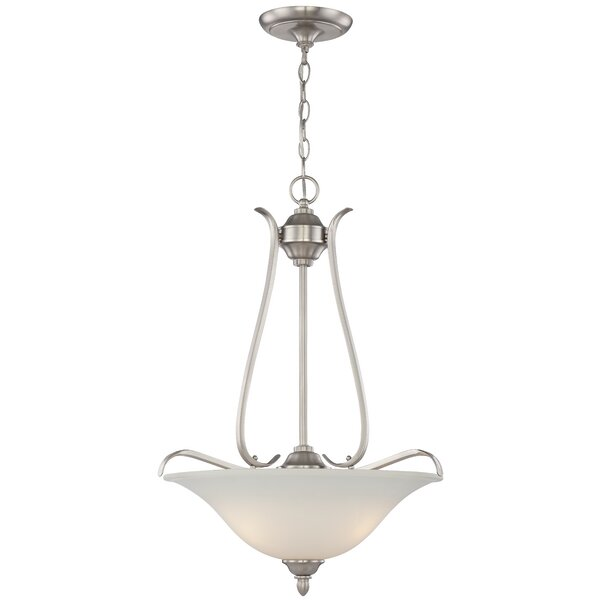 Pottersmoor 3-Light Bowl Pendant by Darby Home Co