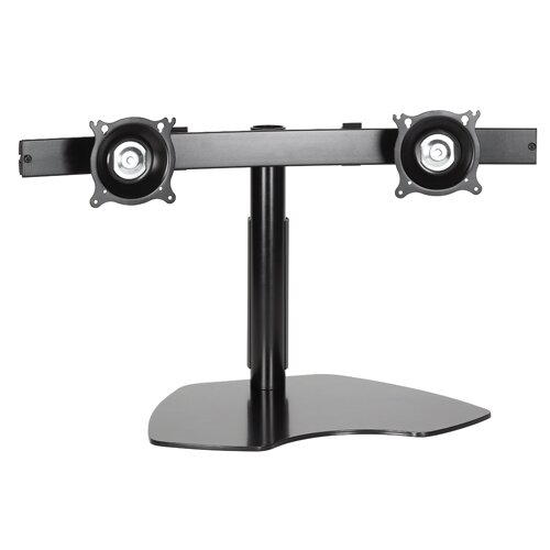 Height Adjustable 4 Screen Desk Mount by Chief Manufacturing