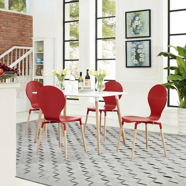 Chrisha Dining Chair (Set Of 4) By Latitude Run