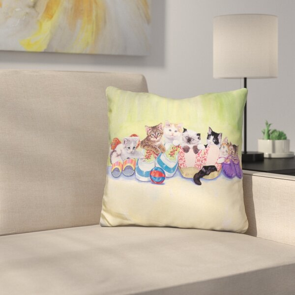 Little Rascals Throw Pillow by East Urban Home