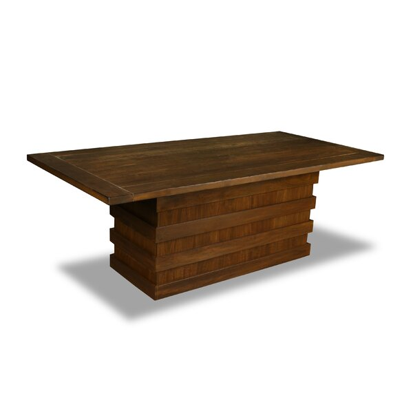 Macfarlane Solid Wood Dining Table by Ivy Bronx