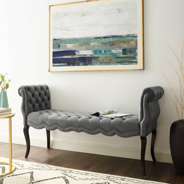 Mcarthur Upholstered Bench By House Of Hampton by House of Hampton Fresh