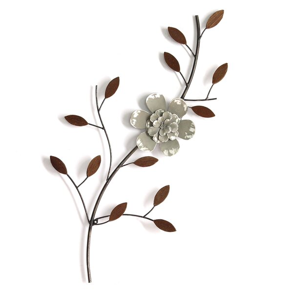 Simple Floral Wall Decor by Canora Grey